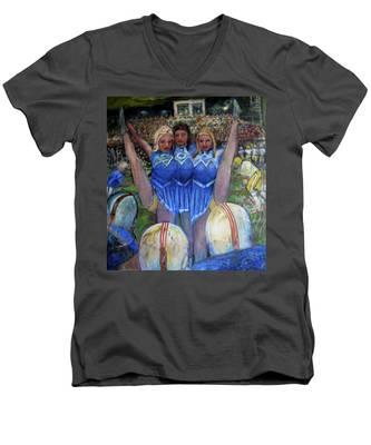 Na004 Men's V-Neck T-Shirt