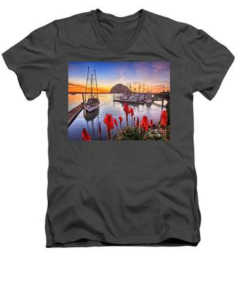 Safe Haven Men's V-Neck T-Shirt