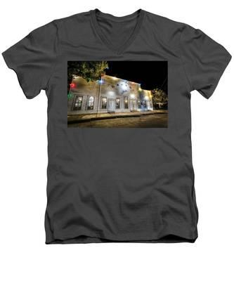 Saturday Night At Gruene Hall Men's V-Neck T-Shirt