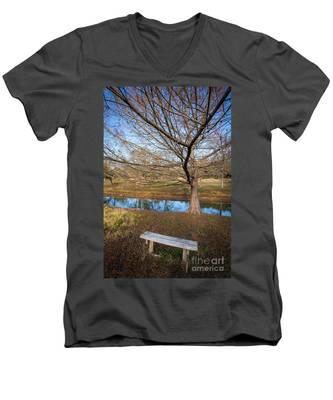 Sit And Dream Men's V-Neck T-Shirt