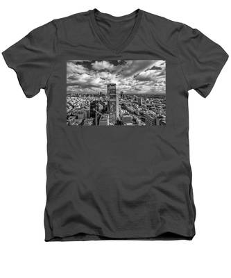 Tel Aviv High And Above Men's V-Neck T-Shirt
