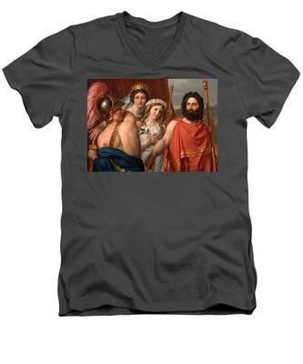 The Anger Of Achilles Men's V-Neck T-Shirt