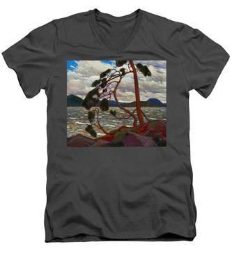 The West Wind Men's V-Neck T-Shirt