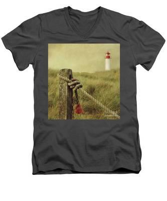 To The Lighthouse Men's V-Neck T-Shirt