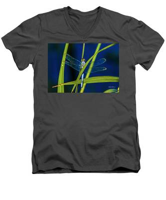 Brilliant Dragon Fly Men's V-Neck T-Shirt