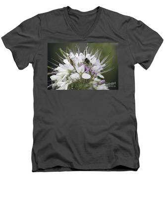 The Beetle And The Bee Men's V-Neck T-Shirt