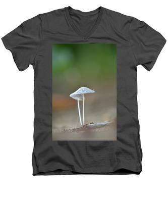 The Mushrooms Men's V-Neck T-Shirt