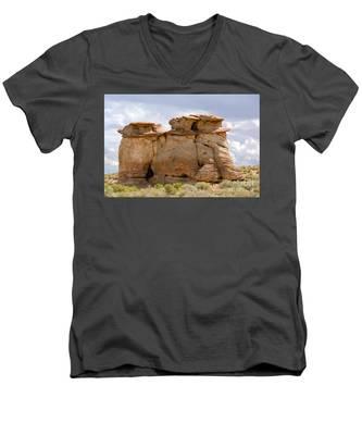 Three Fat Ladies Men's V-Neck T-Shirt