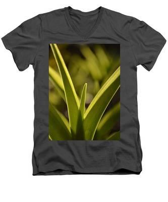 Variegated Light 1 Men's V-Neck T-Shirt