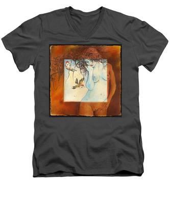 Slightly Censored Men's V-Neck T-Shirt