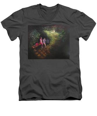 If Cinderella Had A Garden Men's V-Neck T-Shirt