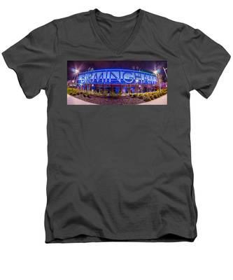 April 2015 - Birmingham Alabama Regions Field Minor League Baseb Men's V-Neck T-Shirt