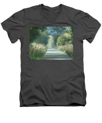 The Road Back Home Men's V-Neck T-Shirt