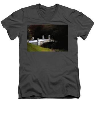 Bridge To Darkness Men's V-Neck T-Shirt