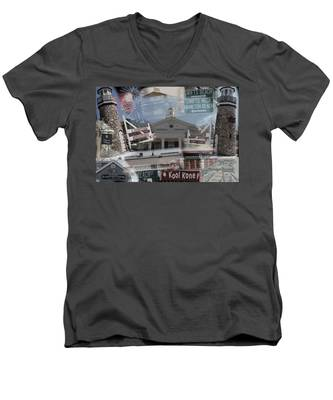 Celebrate Wareham Men's V-Neck T-Shirt