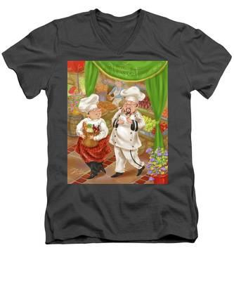Chefs Go To Market IIi Men's V-Neck T-Shirt