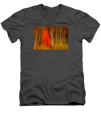 Color Reflections Men's V-Neck T-Shirt