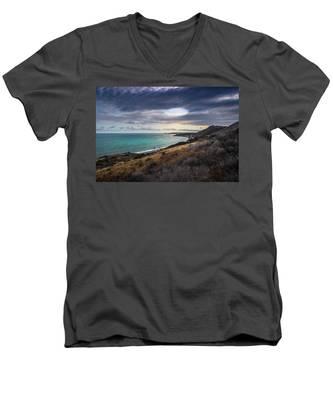 Corral Canyon Malibu Trail Men's V-Neck T-Shirt