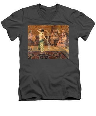 Dance Of The Seven Veils Men's V-Neck T-Shirt