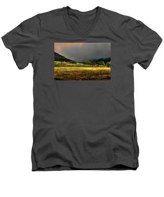 Men's V-Neck T-Shirt featuring the photograph Fine Art Colour-174 by Joseph Amaral