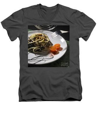 Food Men's V-Neck T-Shirt