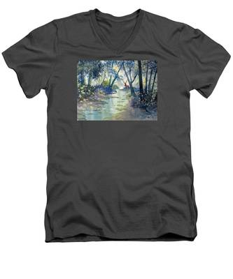 Guardian O'the Glade Men's V-Neck T-Shirt