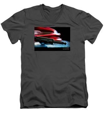 Guitar Jack Men's V-Neck T-Shirt