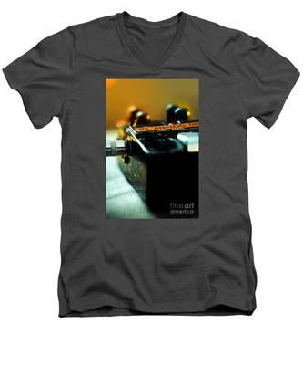 Guitar Pedal Men's V-Neck T-Shirt
