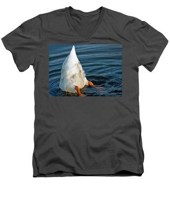 Here Is What I Think Men's V-Neck T-Shirt