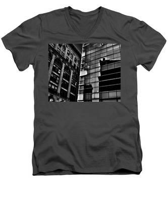 Houston Street Repose Men's V-Neck T-Shirt