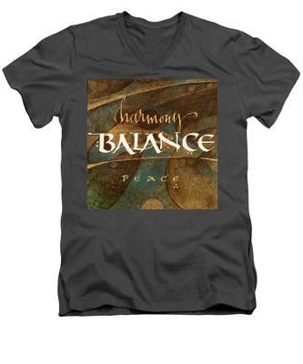 Inspirational Words Men's V-Neck T-Shirt