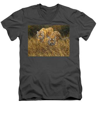 Intent Men's V-Neck T-Shirt