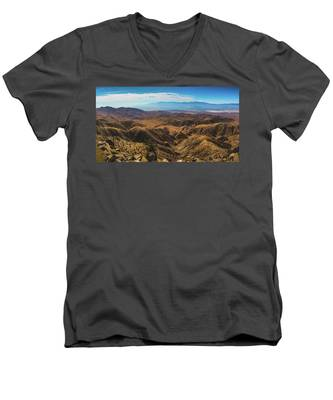 Keys View Overlook Panorama Men's V-Neck T-Shirt