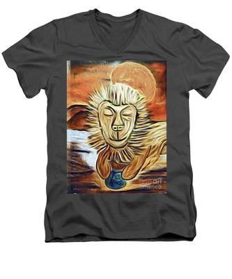 Lion Of Judah II Men's V-Neck T-Shirt
