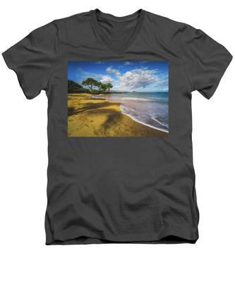 Maluaka Beach Men's V-Neck T-Shirt