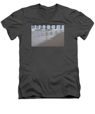 Marbled Gotwit By Mike-hope Men's V-Neck T-Shirt