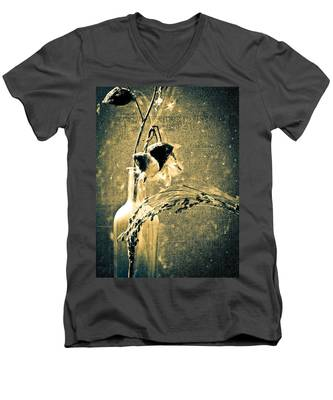 Milk Weed And Hay Men's V-Neck T-Shirt