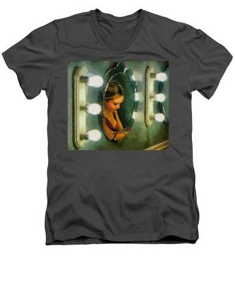 Mirror Mirror On The Wall Men's V-Neck T-Shirt