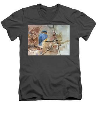 Near Spring Men's V-Neck T-Shirt
