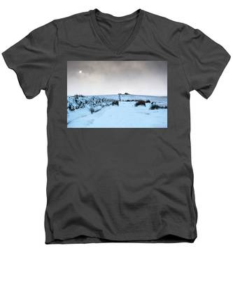 Path To South Hessary Tor II Men's V-Neck T-Shirt