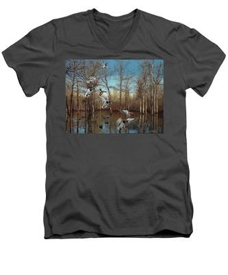 Reydel Hole Men's V-Neck T-Shirt