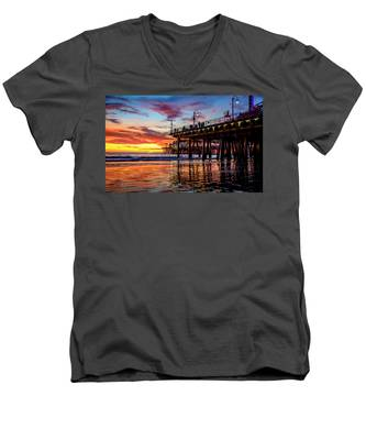 Ripples And Reflections Men's V-Neck T-Shirt