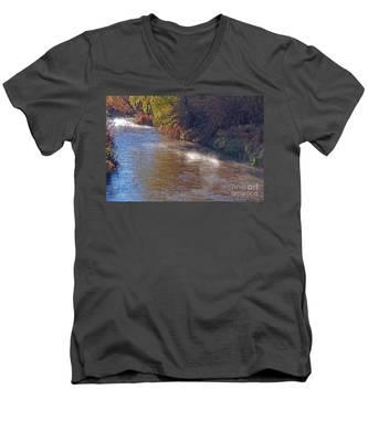 Santa Cruz River - Arizona Men's V-Neck T-Shirt