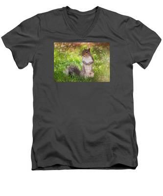 Say Cheese Men's V-Neck T-Shirt
