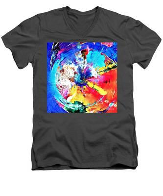 Stratosphere  Men's V-Neck T-Shirt