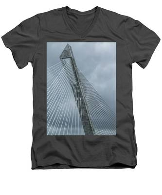 Terenez Bridge IIi Men's V-Neck T-Shirt