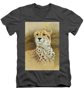 The Prince - Cheetah Men's V-Neck T-Shirt