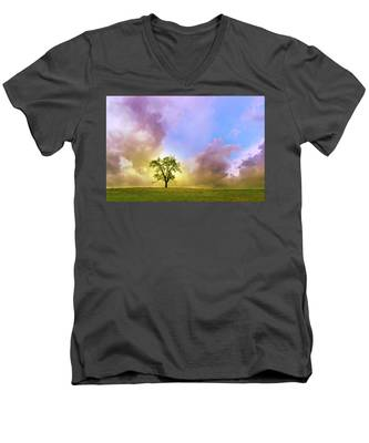 Waiting For The Storm Men's V-Neck T-Shirt