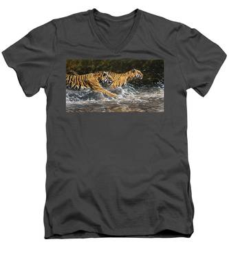 Wet And Wild Men's V-Neck T-Shirt