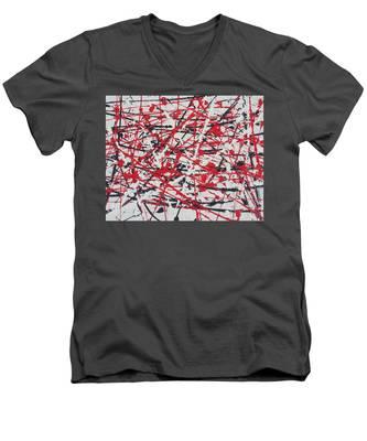 What Will The Gods Say Men's V-Neck T-Shirt